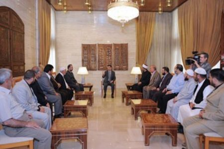 Photo of Syria's Assad talks reforms in Dara'a