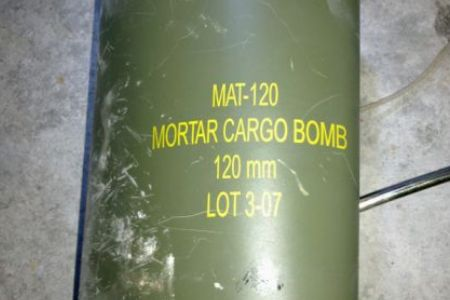 Photo of US dropped cluster bombs on Misratah