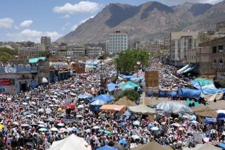 Photo of Yemenis against immunity for Saleh