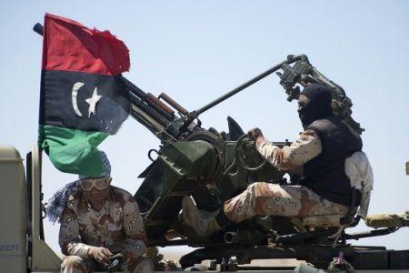 Photo of Libyan revolutionaries slam NATO strikes
