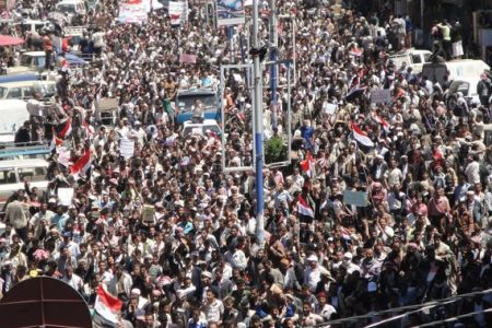 Photo of Yemenis renew call for Saleh's ouster