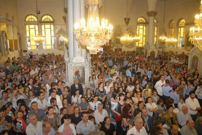 Photo of Christian and Islamic Denominations Take Part in a Mass for Syria's Safety