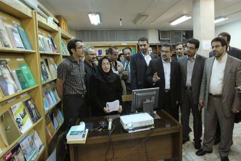 Photo of Iran launches first Digital Library
