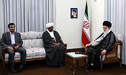 Photo of Leader of Islamic Ummah and Oppressed People Imam Sayyed Ali Khamenei: West Seeking to Derail Popular Movements in Region
