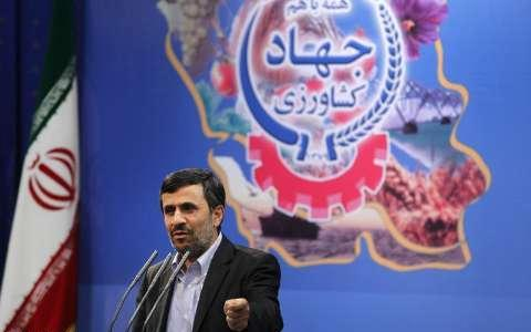 Photo of Ahmadinejad inaugurates 4006 Agricultural Projects