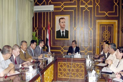 Photo of Sweida Governorate, TaeSung Discuss Investment Cooperation