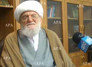 Photo of Grand Ayatollah Taskhiri:Jihad and Martyrdom enriches our culture