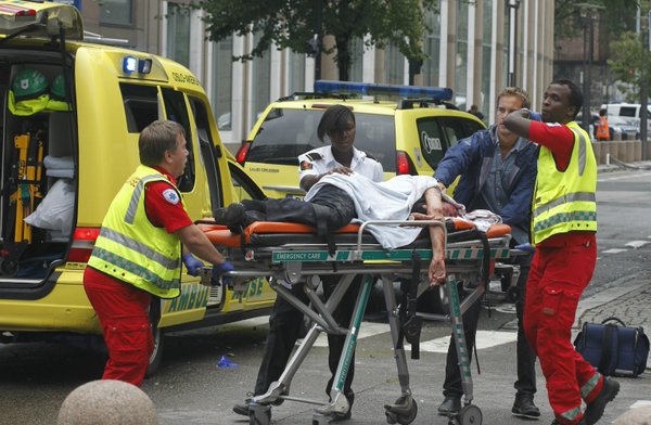 "Photo of 91 Killed in Norway Explosion by ""Native Christian Fundamentalist"""