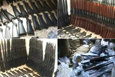 Photo of Authorities Confiscate Large Shipment of Smuggled Firearms Northwest of Hama