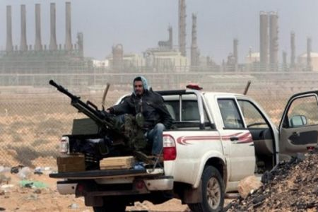 Photo of Revolutionaries  take control of Libyan town