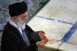 Photo of The Leader Of Islamic Ummah And Oppressed People Imam Sayyed Ali Khamenei leads Eid-ul-Fitr prayers