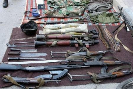 Photo of Second terrorist groups arms cargo seized en route Syria