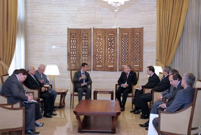 Photo of President al-Assad slams foreign plot against Syria