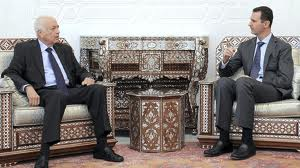 Photo of Video- Arab League chief in Syria for talks with Assad
