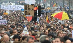 Photo of European Awakening in Belgium:Thousands rally in Brussels against capitalist system