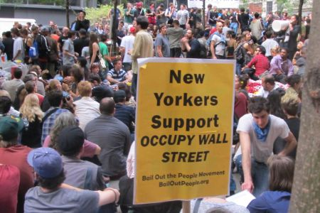 Photo of OWS vows to remain on NYC streets