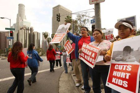 Photo of Video- Occupy LA demands education reform