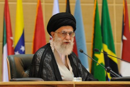 Photo of The Leader of Islamic Ummah and Oppressed People Imam Sayyed Ali Khamenei rejects two-state solution