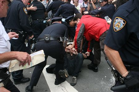 Photo of US police detains at least 30 people