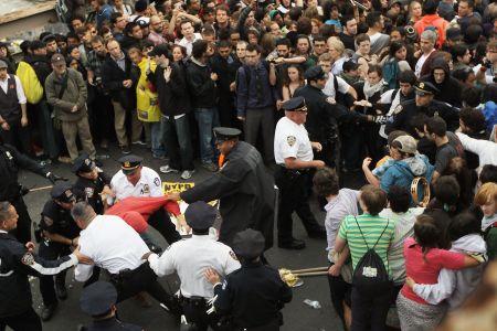 Photo of US protesters slam media silence