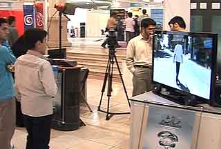 Photo of Video- The 5th intl. digital media exhibition opens in Tehran