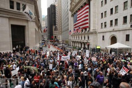 Photo of US unions voice support for Occupy Wall Street