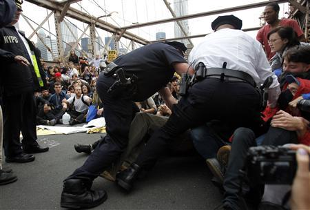 Photo of More than 1000 Arrested in US over Wall Street Protest