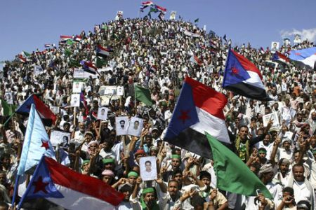 Photo of video- Yemenis calling for Saleh's step down