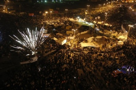 Photo of Egyptians call for million-man march