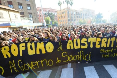 Photo of European Awakening: Italian students protest new budget cuts