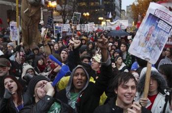 Photo of Montreal students protest tuition hike