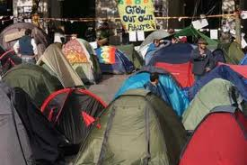 Photo of Video- Occupy London campers are under pressure to leave