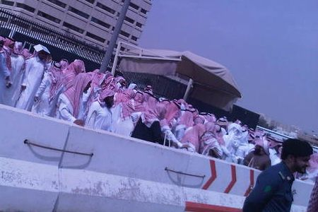 Photo of 1000s of Saudis rally against regime