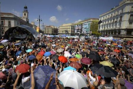 Photo of Video- Spanish 'indignants' protest ahead of elections