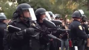 Photo of Video- The brutality of police against the innocent students of UC  Davis