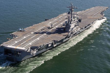 Photo of US deploys aircraft carrier off Syria