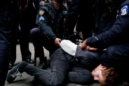 Photo of US police nab 200 New York protesters