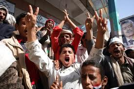 Photo of Video- Yemeni revolutionaries demand Saleh's prosecution