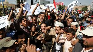 Photo of Video- Yemenis protest Arab League's silence