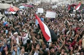Photo of Video- Yemenis take to streets to protest power transfer deal