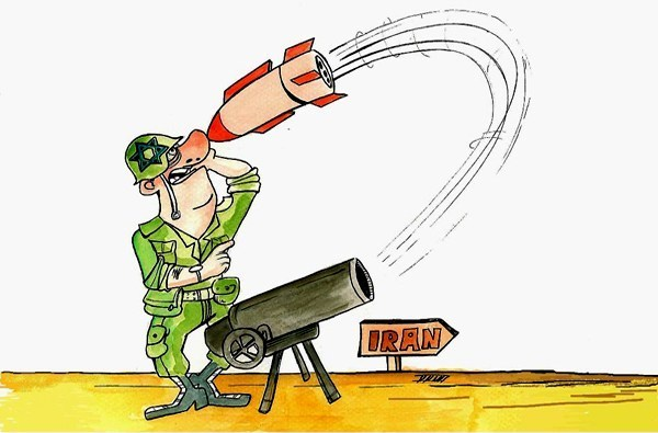 Photo of Caricature- The war against Islamic Iran will be the end of zionist israel!!