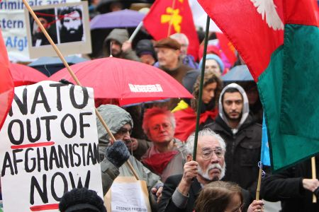 Photo of Germans protest against Afghan war