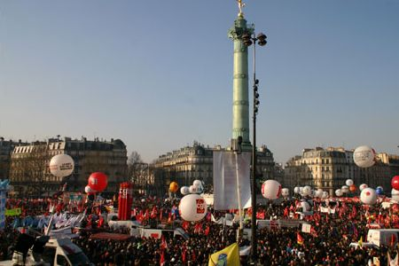 Photo of French protest unemployment