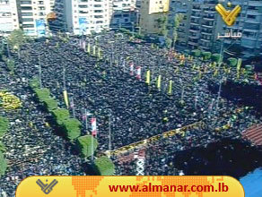 Photo of Sayyed Nasrallah on Ashura Full Text: We Are Power that Enemy Still Does not Know