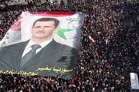 Photo of Video-Syrians expressing support for Assad, his reform program