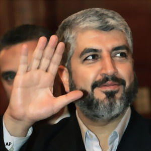 Photo of Hamas Leader Meshaal Due in Gaza, Jordan