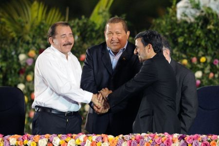 Photo of Iranian president arrives in Nicaragua