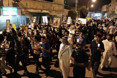Photo of Saudis rally against Al Saud rule in Qatif