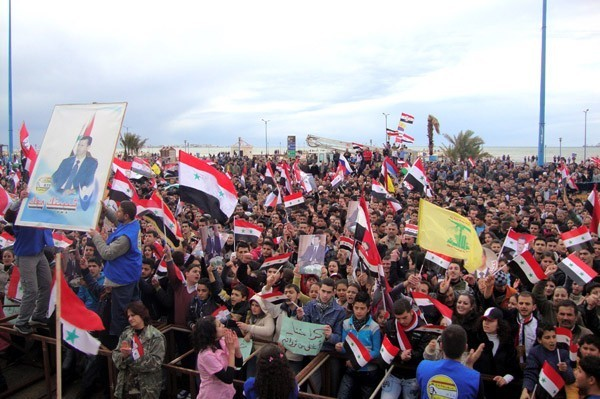 Photo of Syrian People Express Support to Comprehensive Reform Program