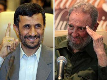 Photo of Ahmadinejad-Castro Stresses Iran, Cuba's Common Positions on Int'l Developments
